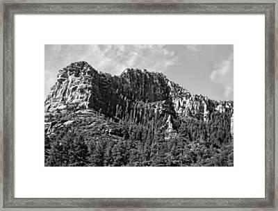 Powerful View Framed Print by Berta Keeney