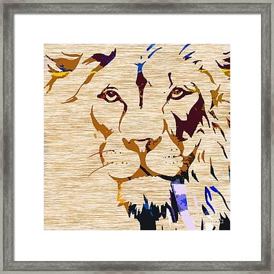 Powerful Wildlife Tiger Framed Print by Marvin Blaine