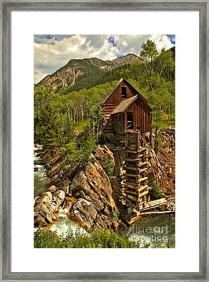 Powering Down Framed Print by Adam Jewell