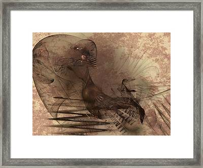 Powerless And Humble Framed Print by Jeff Iverson