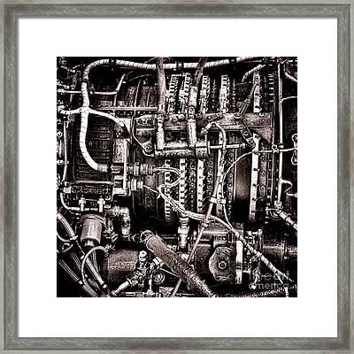 Powerplant Framed Print by Olivier Le Queinec