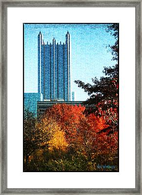 Framed Print featuring the photograph Ppg In Autumn by Joe Winkler