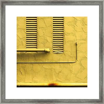 Smile Framed Print by Lee Harland