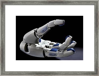 Pr2 Robot Hand Framed Print by Patrick Landmann