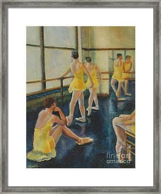 Practice Framed Print by Jana Baker