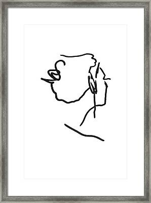 Practice Matisse  Framed Print by Empty Wall