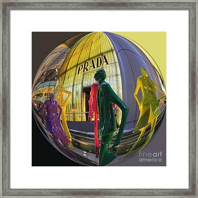 Prada Framed Print