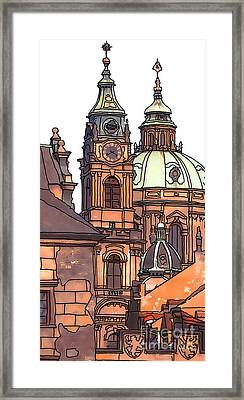 Prague 1 Framed Print by Phil Robinson