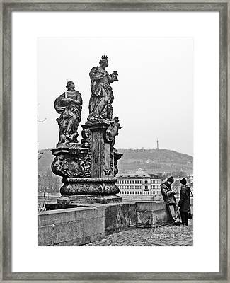 Prague Framed Print by Alison Tomich