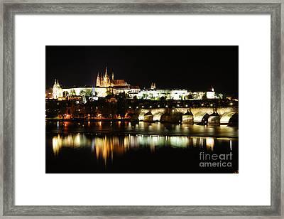 Prague Castle Framed Print by Syed Aqueel