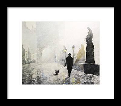 Morning Framed Prints