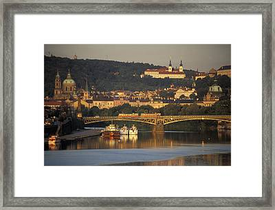 Prague Framed Print by Chris Coe