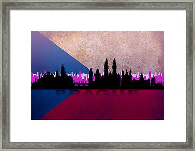 Prague City Framed Print
