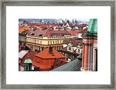 Prague Color Spectrum  Framed Print