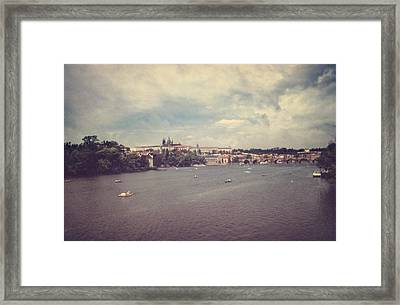 Prague Days II Framed Print by Taylan Apukovska
