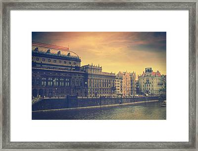 Prague Days Framed Print by Taylan Apukovska