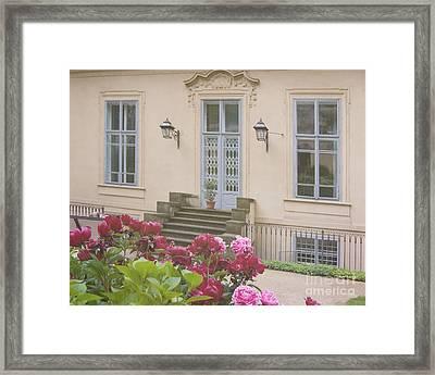 Prague Gardens Framed Print