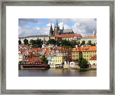 Framed Print featuring the photograph Prague Skyline by Ira Shander