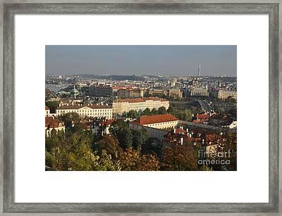 Prague Landscape Czech Republic Framed Print