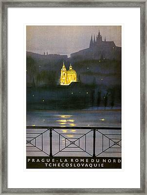 Prague Framed Print by Georgia Fowler