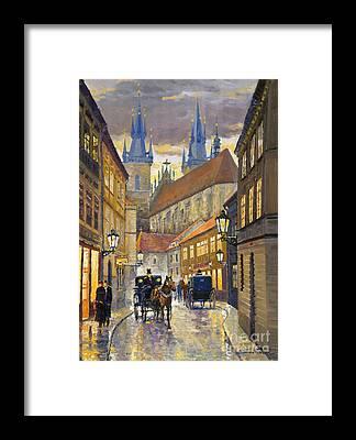 Old Street Framed Prints