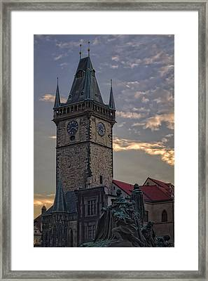 Prague Old Town Hall Framed Print