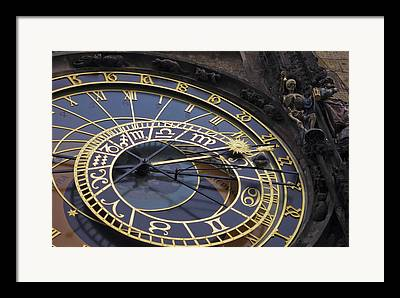 Orloj Framed Prints