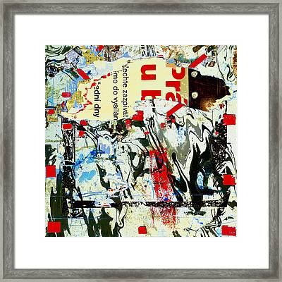 Prague Spring Framed Print by Dominic Piperata