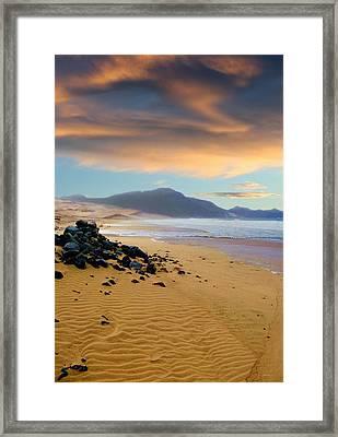 Praia Do Salamansa Africa Framed Print