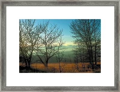 Prairie Autumn 2 Framed Print by Terry Reynoldson