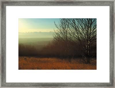 Prairie Autumn 4 Framed Print
