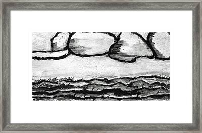 Prairie Clouds Framed Print by Michael Dohnalek