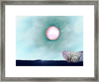 Prairie Moon Framed Print