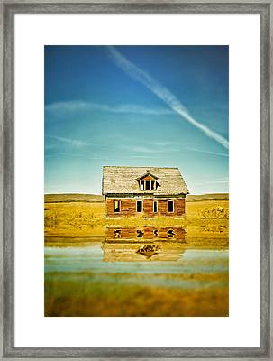 Prairie Oasis Framed Print by Starlux  Productions
