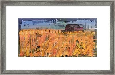 Prairie Song Framed Print by Carolyn Doe