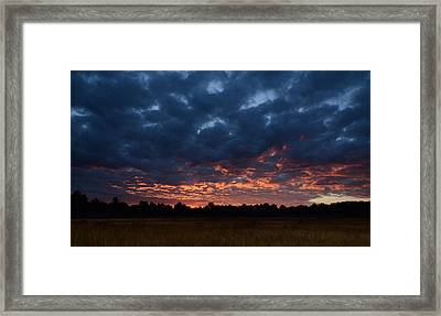 Prairie Sunrise Framed Print