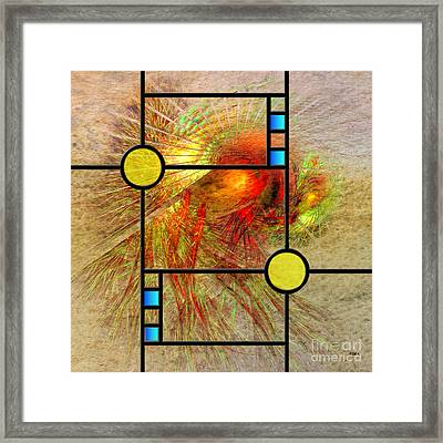 Prairie View - Square Version Framed Print
