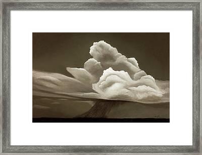 Prairy Storm IIi Framed Print