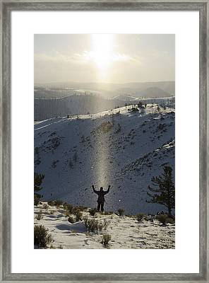 Praise Framed Print by Aaron Bedell