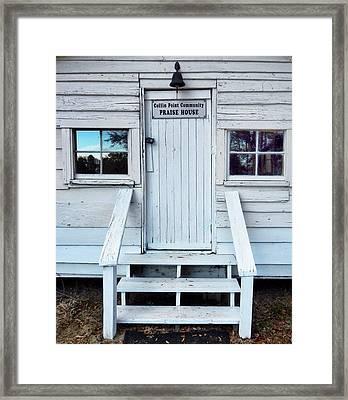Praise House Framed Print