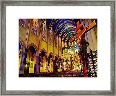 Praise The Lord Framed Print by Nishanth Gopinathan