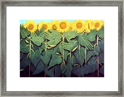 Praise The Son Framed Print by Anthony Falbo