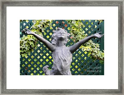 Praising The Lord Framed Print