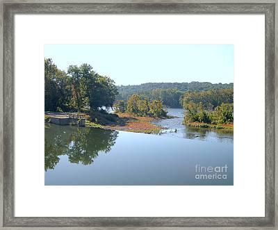 Prallsville Mill Framed Print by Addie Hocynec
