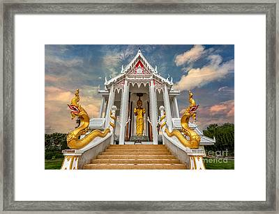 Pranburi Temple Framed Print