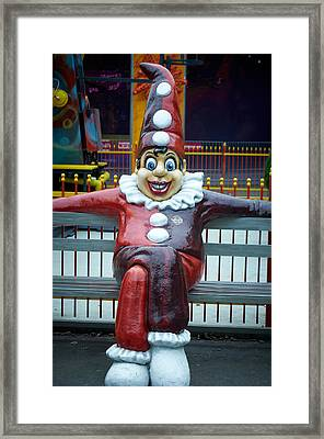 Prater  Clown Framed Print