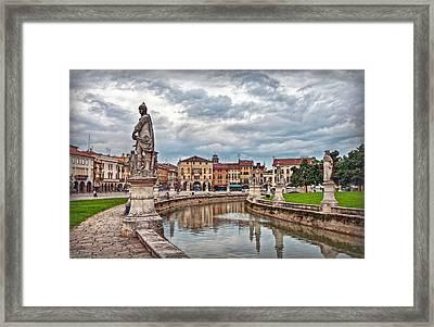 Prato Della Valle Framed Print