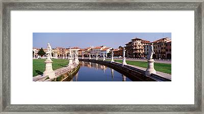 Prato Della Valle, Padua, Italy Framed Print by Panoramic Images