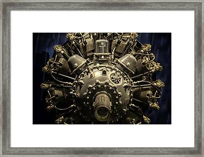 Pratt And Whitney R-2800 Double Wasp Framed Print