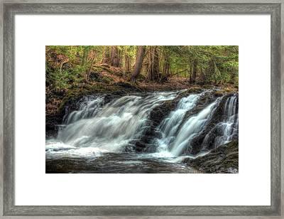 Pratt Brook Falls Framed Print